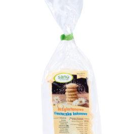 Ciasteczka bezglutenowe kokosowe