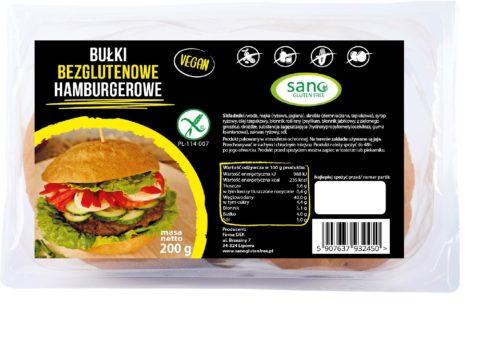 bułki bezglutenowe hamburgerowe