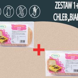 """Zestaw chleb bezglutenowy Biały"""" 1+1″"""