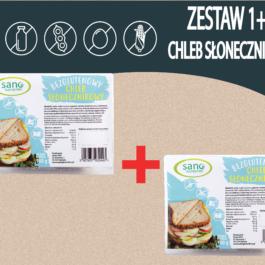 Zestaw 1+1 Chleb bezglutenowy Słonecznikowy