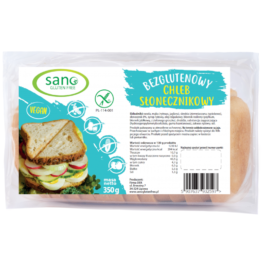 ZESTAW Chleb bezglutenowy Słonecznikowy 350g 1+1